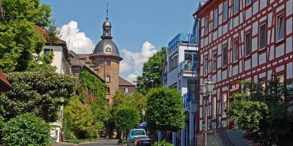 In der Laubacher Altstadt