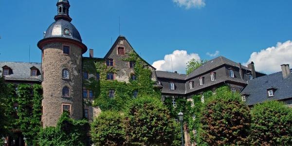 Das Residenzschloß in Laubach