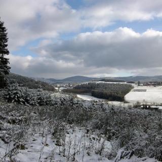Schwartmecke im Winter