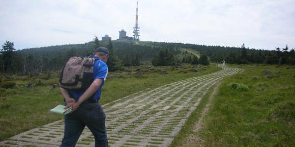 Hirtenstieg mit Brockenblick