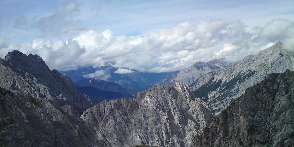 Ausblick auf Karwendelgebirge