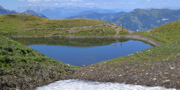 Kleiner Bergsee im Frauenkar