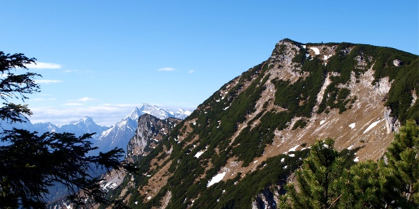 Dreisesselberg 1680 m mit Karkopf