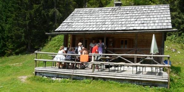 Seidlhütte auf der Zimitzalm