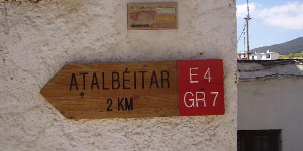 Absteigen nach Atalbéitar
