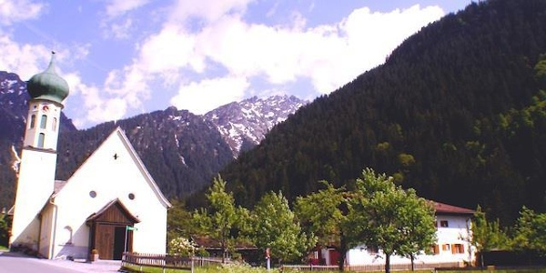 Bergkirche Partenen im Montafon