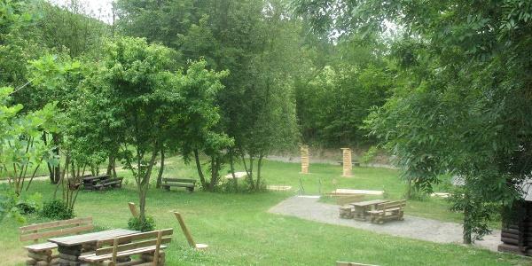 Wander-Park und -Rastplatz im Schwinkel