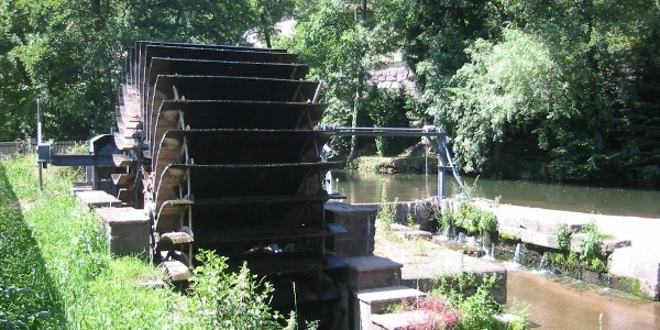 Wasserrad Wildberg