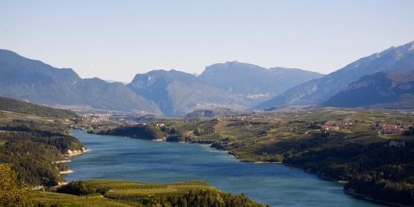 Panorama sul Lago di Santa Giustina