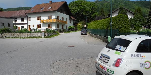 Ausgangspunkt Parkplatz