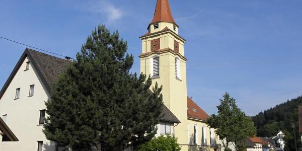Katholische Kirche St. Nikolaus, Aulfingen