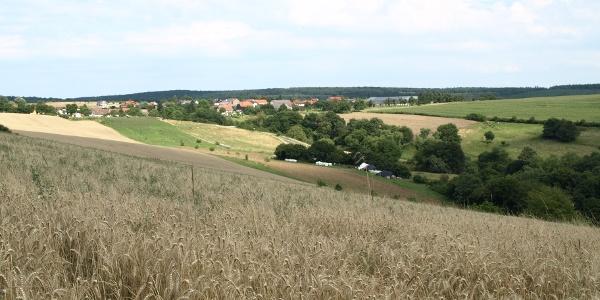 Blick auf die Gemeinde