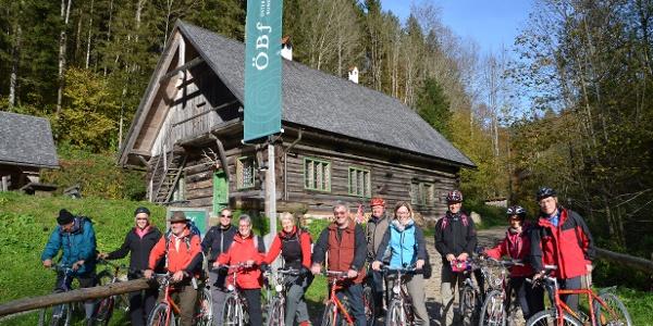 To stop for a rest in the Große Klaushütte