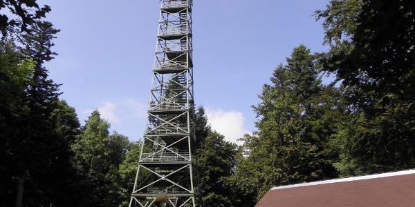 Lembergturm  mit Albvereinshütte
