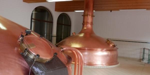 Braukessel im Brauereimuseum Murau