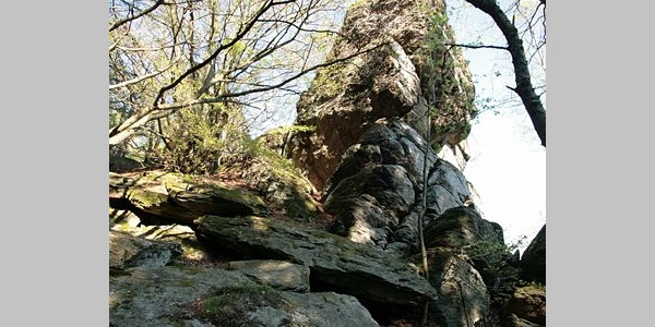 Rinsleyfelsen bei Saalhausen