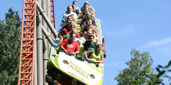 Expedition GeForce im Holiday Park.