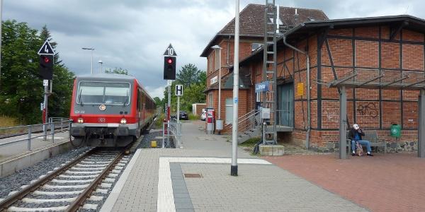 Bahnhof Ahnatal-Weimar