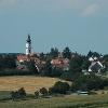 Das Birgitten-Kloster und die Alto-Kirche prägen das Ortsbild von Altomünster.