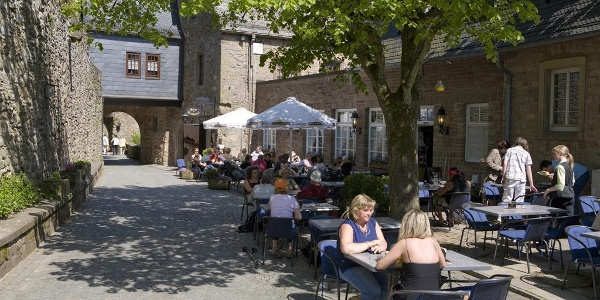 Burgrestaurant, Ansicht 1