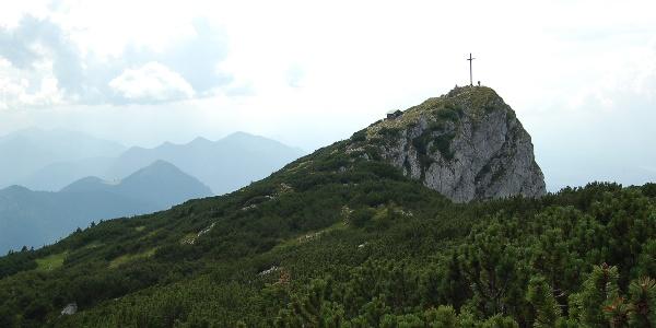Gipfelkreuz der Benediktenwand.