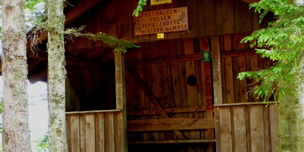 Posthaldenfelsenschutzhütte