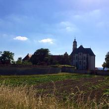 Kloster Neresheim Rückseite