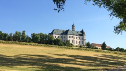 Abtei Neresheim - letzte Etappe auf dem Barockpfad