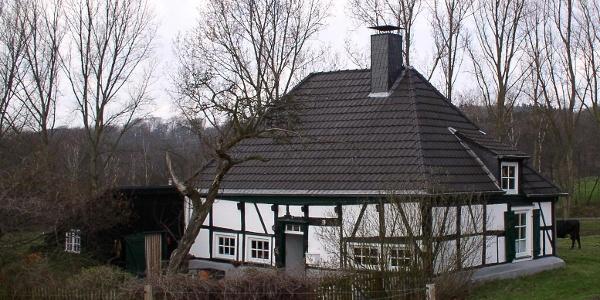 Bauernhaus auf Gut Schede.