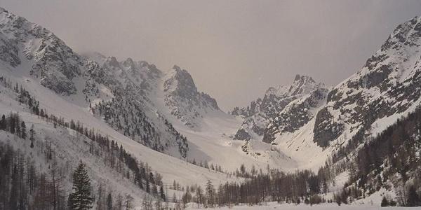 Rückblick zum Col des Ecandies.