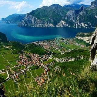 Panorama dal Monte Corno