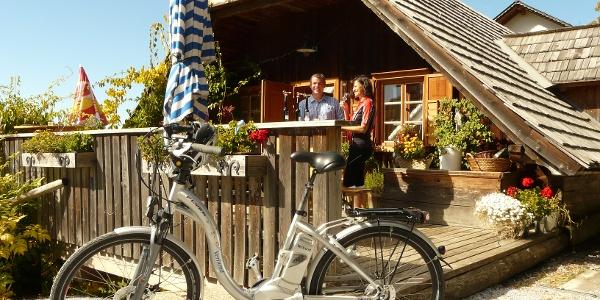 E-Bike Genusstour   Kulinarikstation: Edelbrennerei Graf