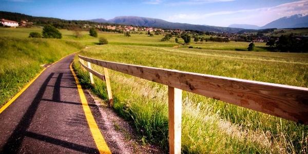 Da Ruffrè all'anello della pista ciclabile dell'Alta Val di Non