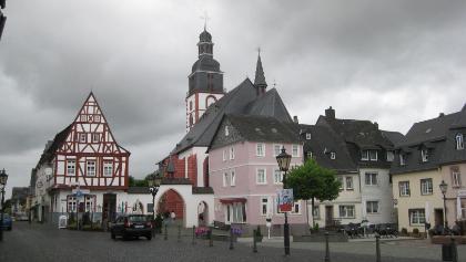 Kirchberg Stadtzentrum
