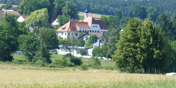 Blick von Moosmühle auf Johanniskirchen