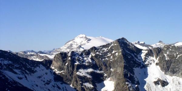 Blick zur Hochalmspitze