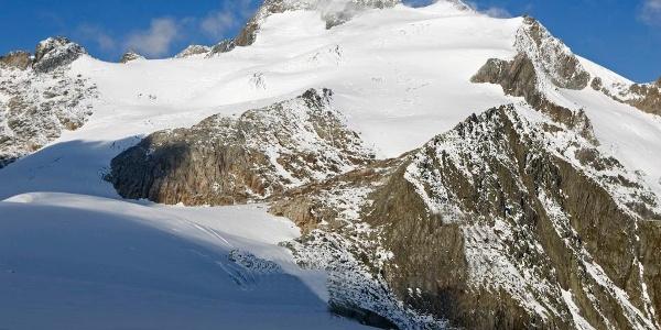 Blick auf den Oberalpstock