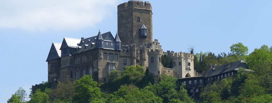 Die Burg Lahneck in Lahnstein.