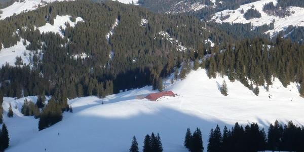 Höllritzer Alpe im Winter