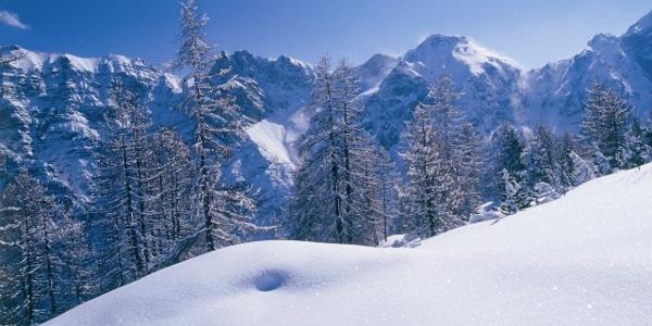 Winterlandschaft Stubaital