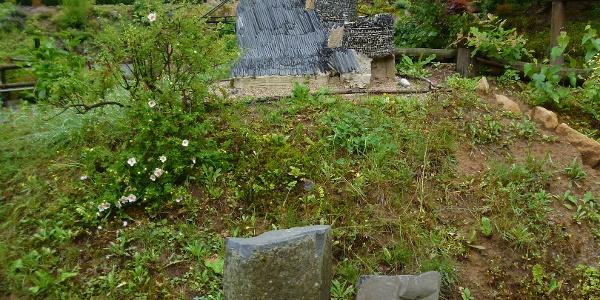 Miniaturbau der Burg Stolpen
