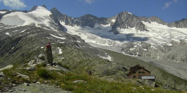 Zittauer Hütte mit Wildgerlos Kees