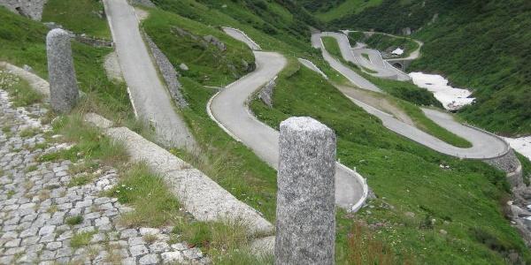 Tremola am Gotthardpass- ein Erlebnis