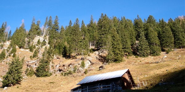 Unterste Hütte ~1420m