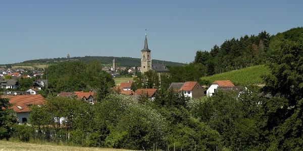 Ansicht Waldalgesheim-Genheim