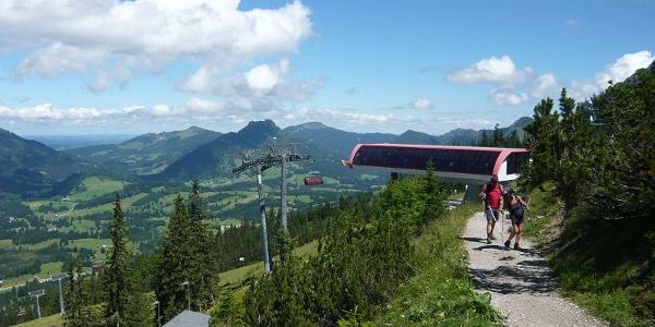 Bergstation Iselerbahn