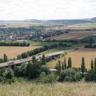 Kronenbergblick zur B 41