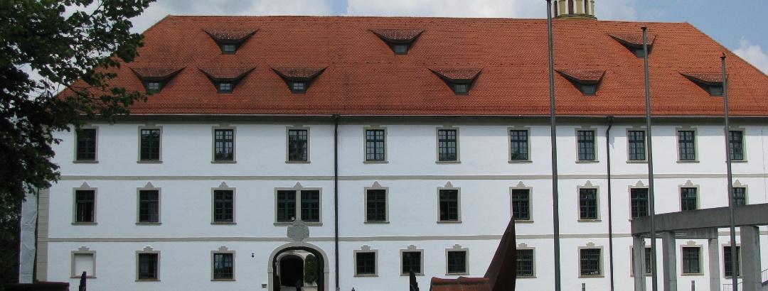 Das fürstbischöfliche Schloss in Marktoberdorf.