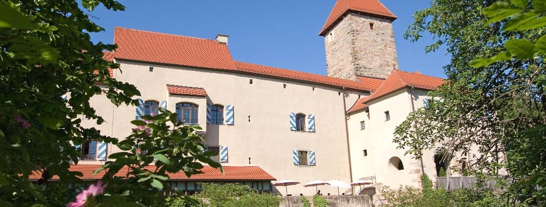 Die Burg Wernberg.