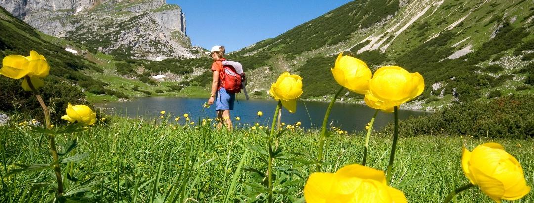 Wanderung zum Zireiner See im Rofangebirge.